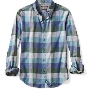 Banana Republic Grant Fit Luxe Flannel Shirt